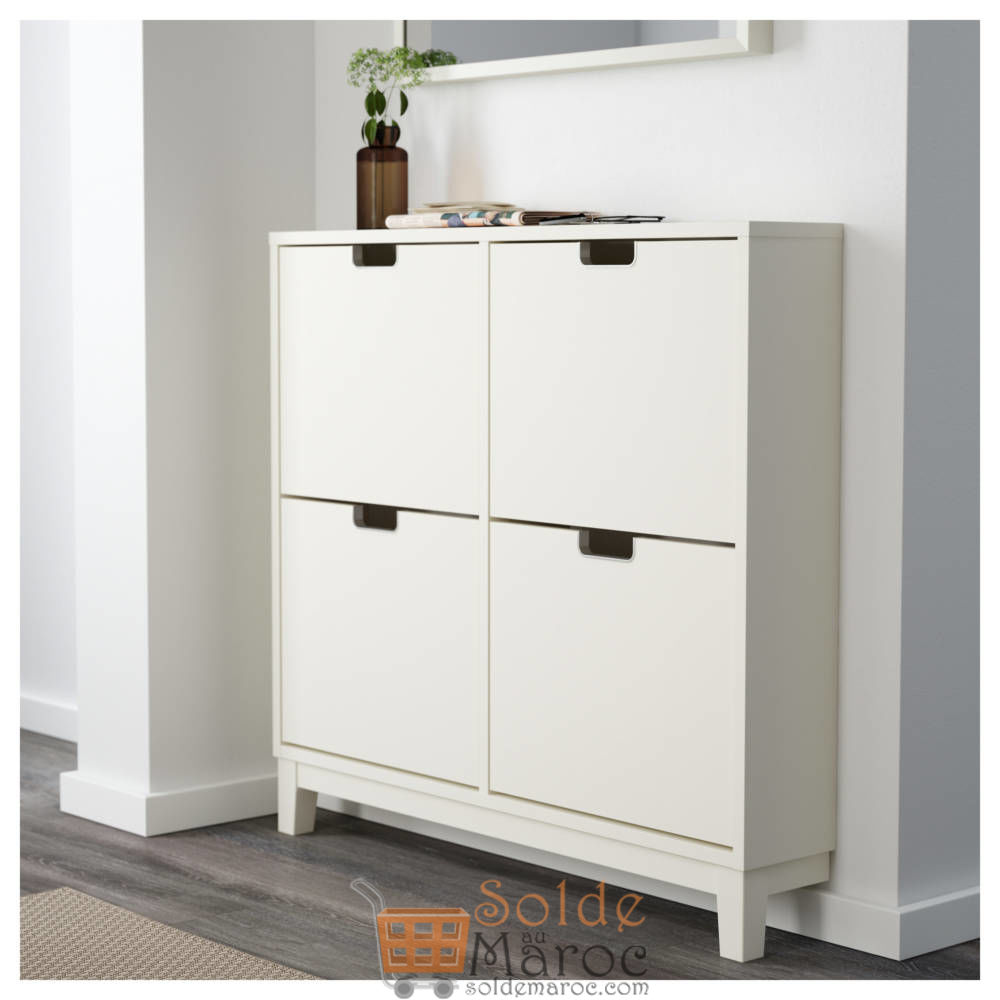 Meuble A Chaussures Stall Soldes Ikea Maroc Armoire à Chaussures 4 Casiers StÄll 1080dhs