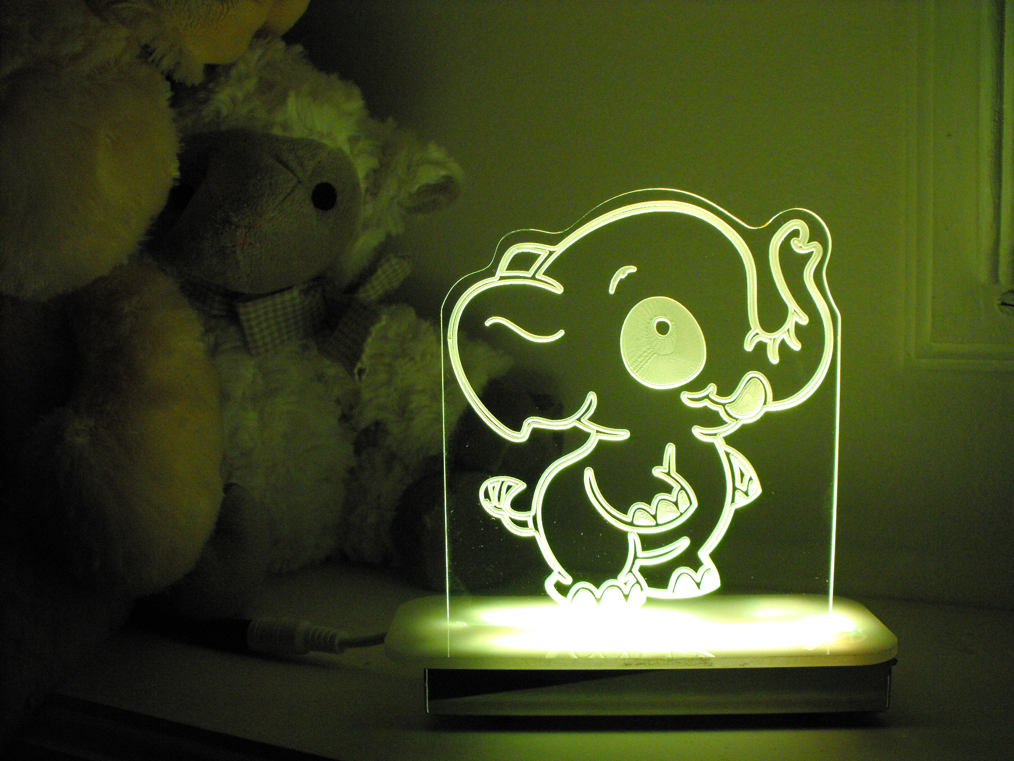 Elephant Night Light Night Lights Ella The Elephant Night Light Was Listed
