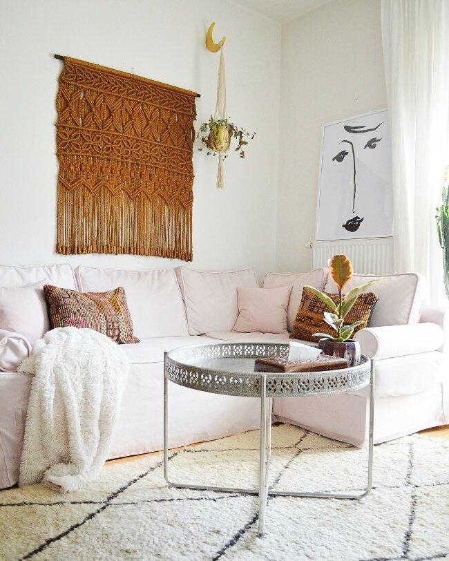 Hippie Wohnzimmer