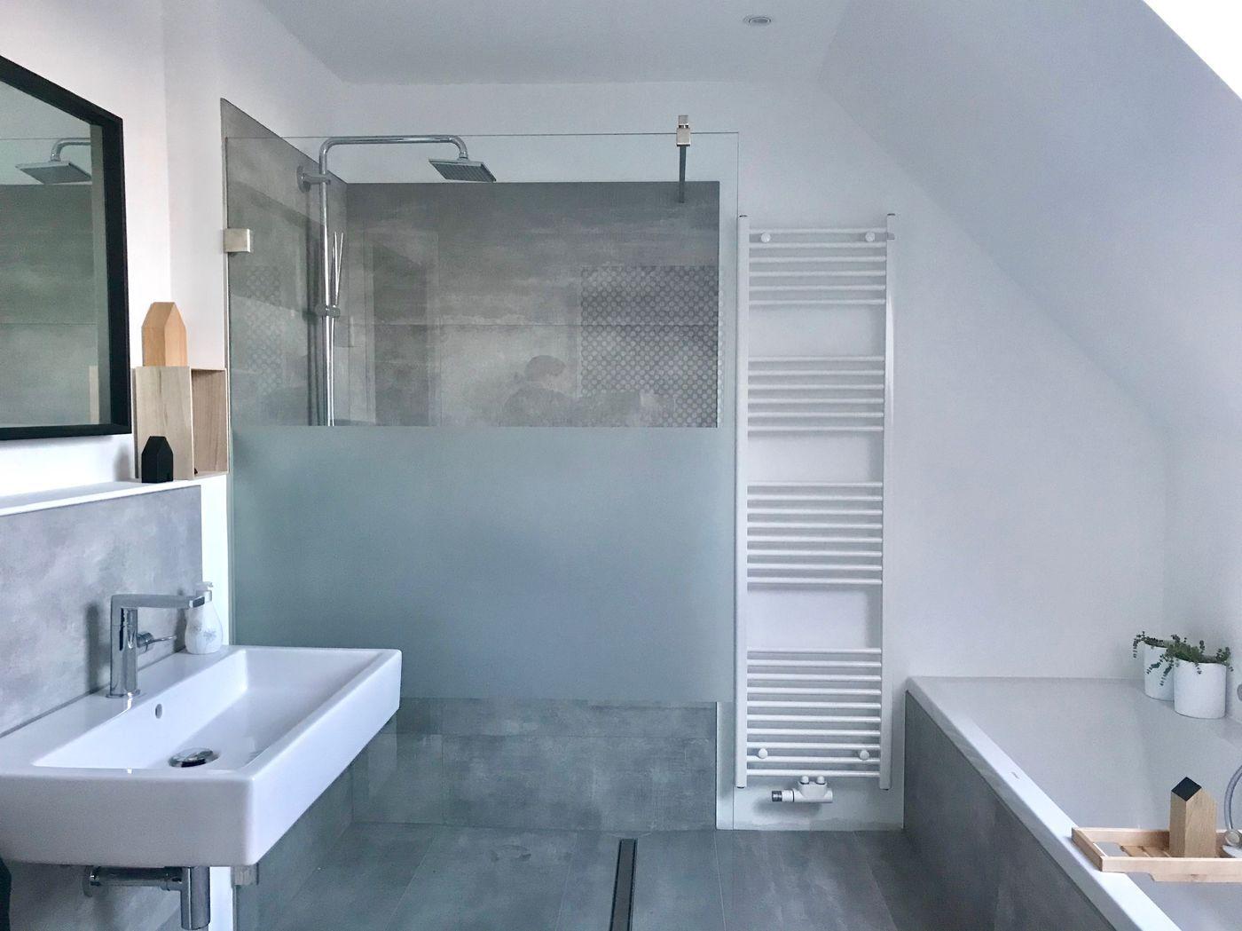 Badezimmer Ideen Schlicht | Bilder Muster Gardinen Einrichten Neues ...