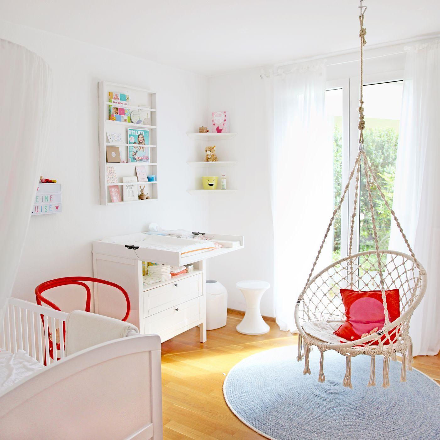 Schlafzimmer Und Babyzimmer In Einem Raum