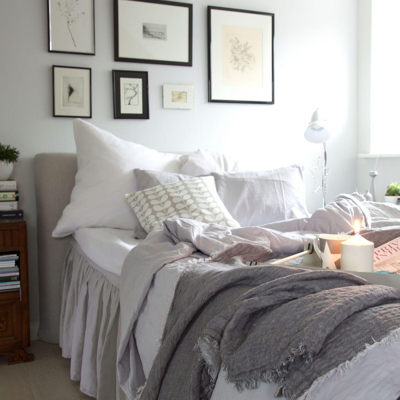 Schlafzimmer Gemütlich Einrichten | Beliebt Dachschräge Einrichten ...