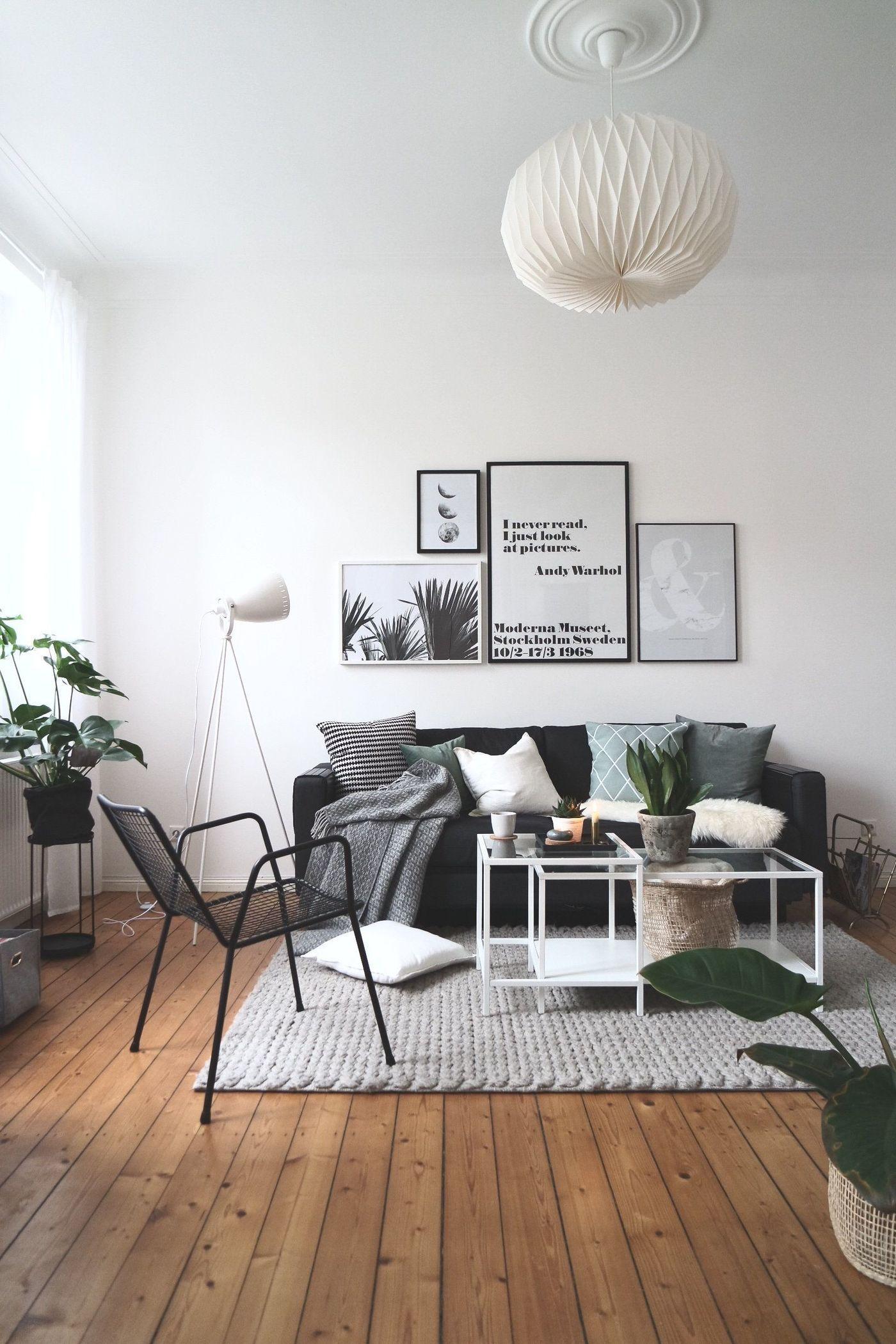 Wohnzimmer Schwarz Weiß Gelb   Abstrakte Bilder Schwarz Weiß Frisch ...