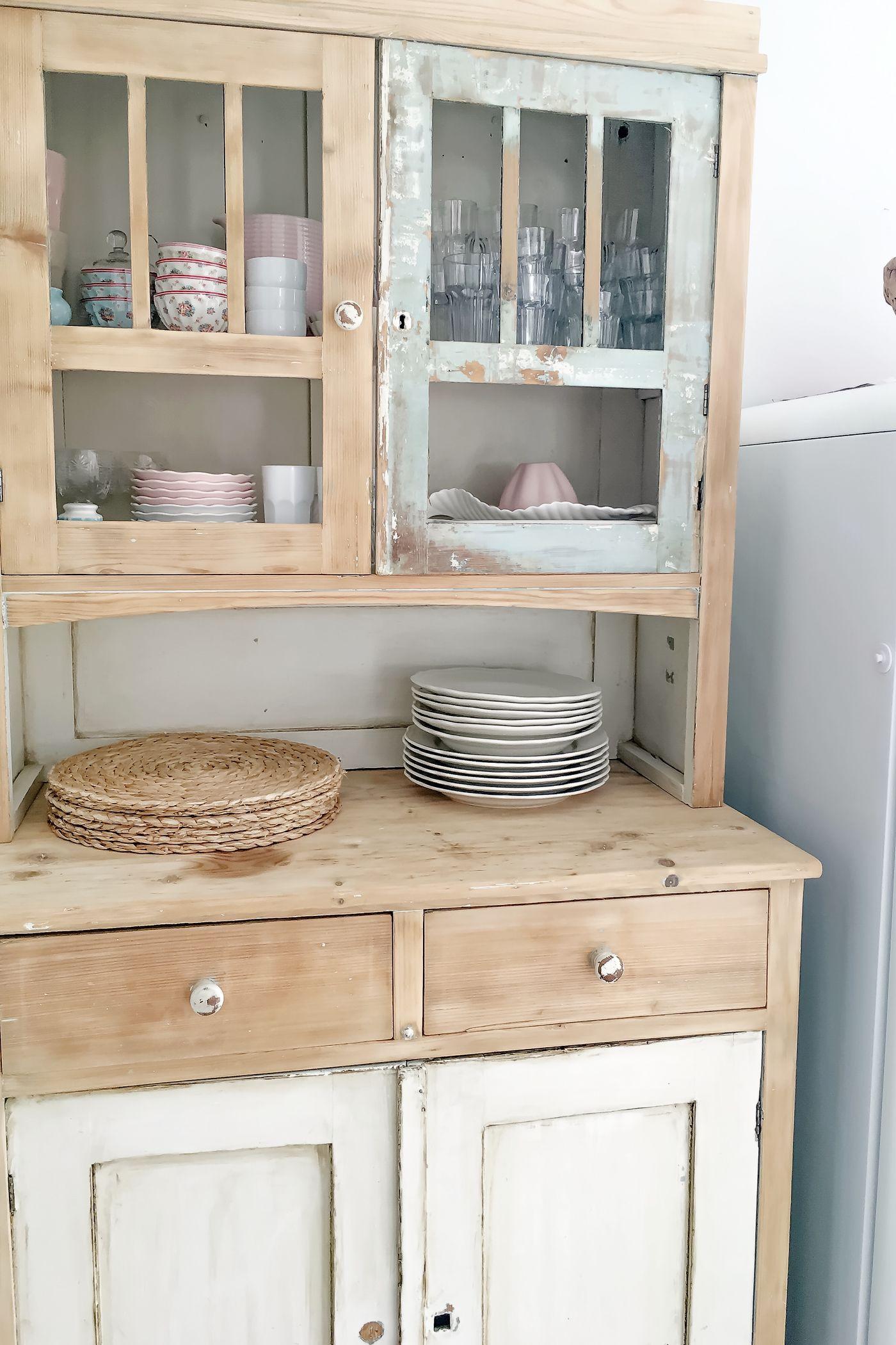 shabby küche selber machen   shabby chic deko selber machen ideen
