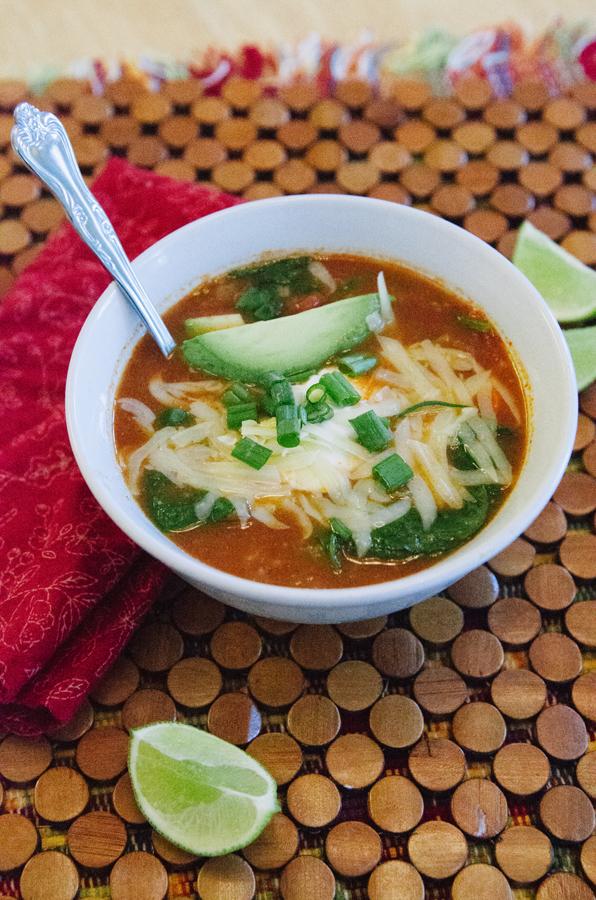 Paleo Fiesta Chicken Soup