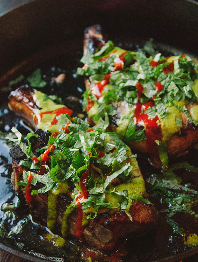Paleo Marinated Spicy Pork Chops