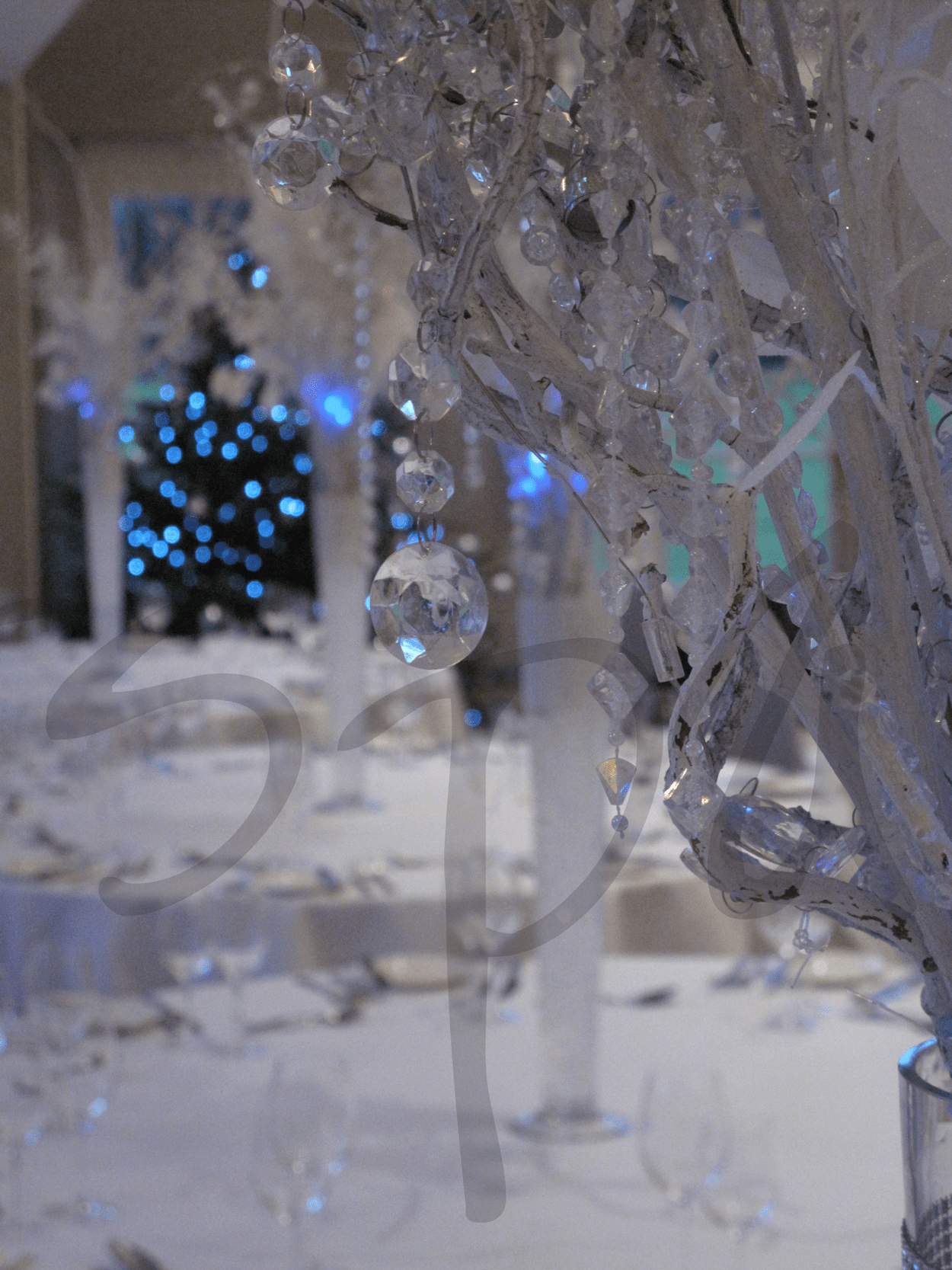 Crystal Decorations For Home Winter Wonderland Themed Events So Lets Party