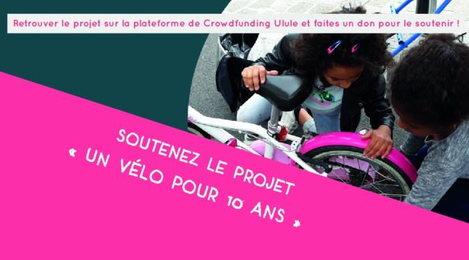 Soutenez le projet «Un vélo pour 10 ans»