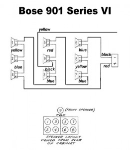 bose acoustimass 9 subwoofer wire diagram