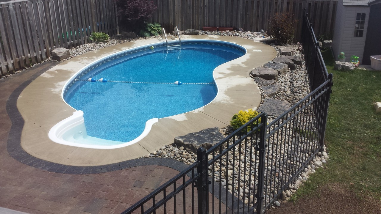 Pool Beton Pool Concrete Pavers | Solid Concrete Solutions