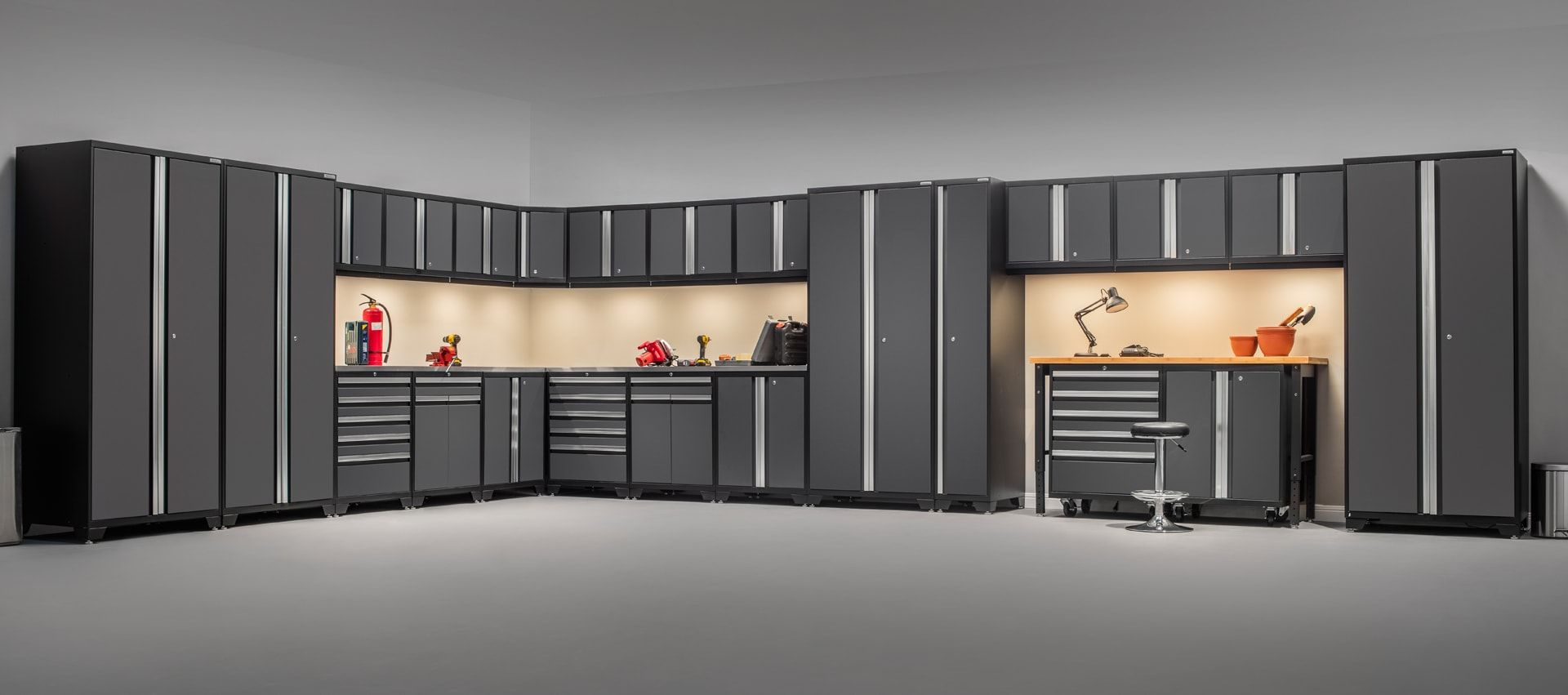 Garage Cabinets By George Epoxy Flooring Brantford Garage Storage Brantford Garage Floor