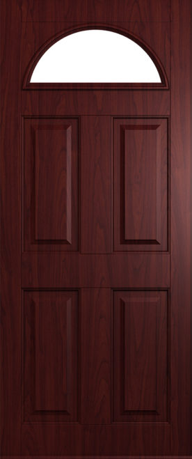Black Doors Rosewood Doors From Solidor | Front Composite Doors