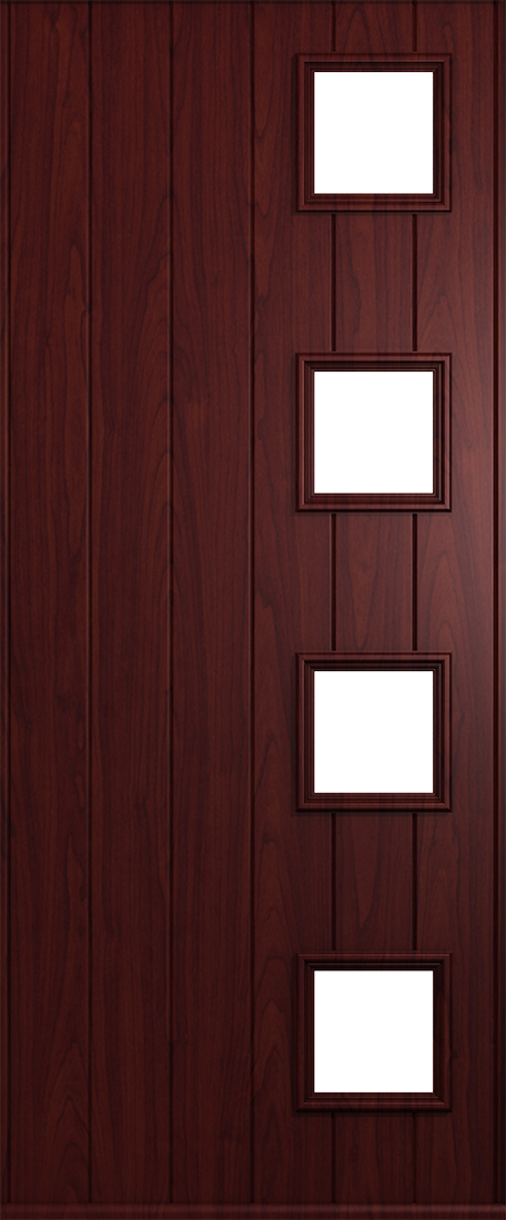 Duck Egg Blue Rosewood Doors From Solidor | Front Composite Doors