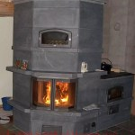 Karpinen_Heate_ and_cookstove - stove fireplace alone
