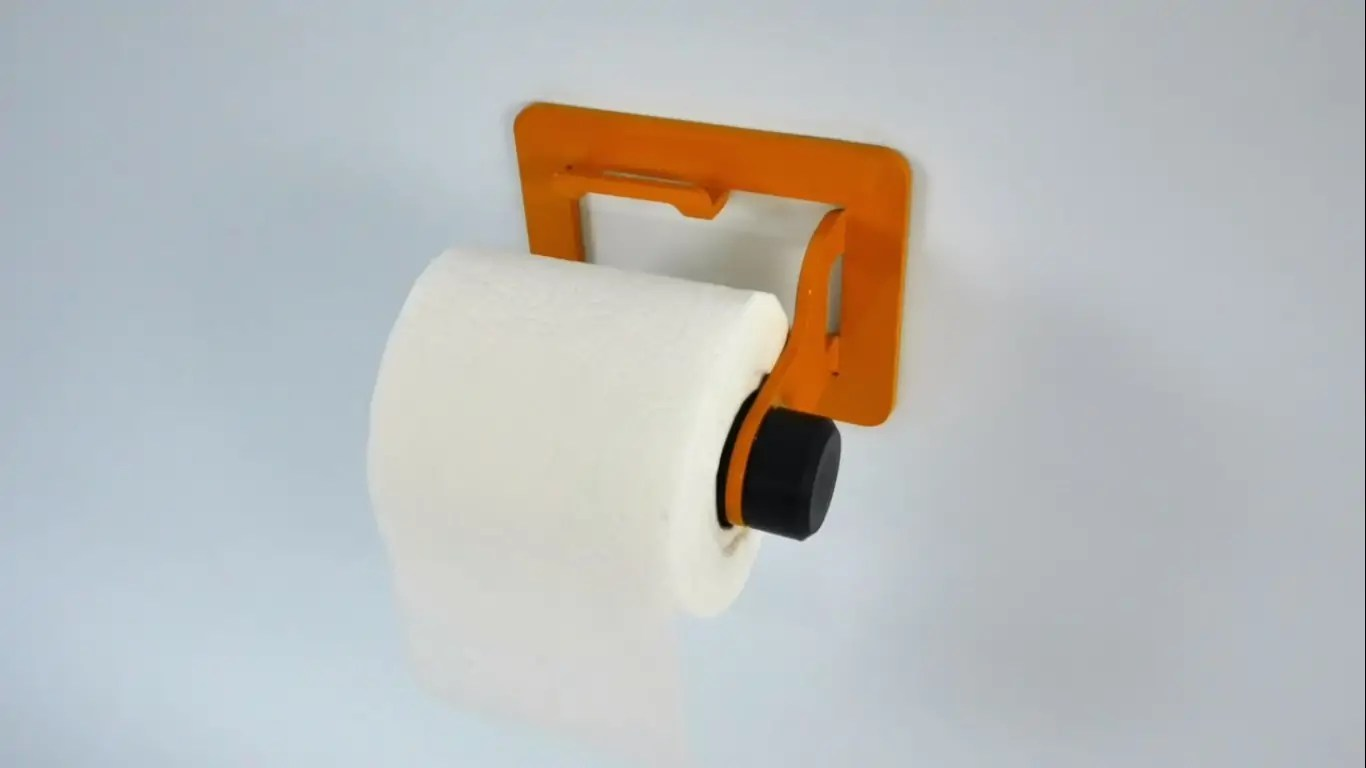 Toilet Paper Holder Unique How A Smart Toilet Paper Holder Is Made Using Simple Magnets