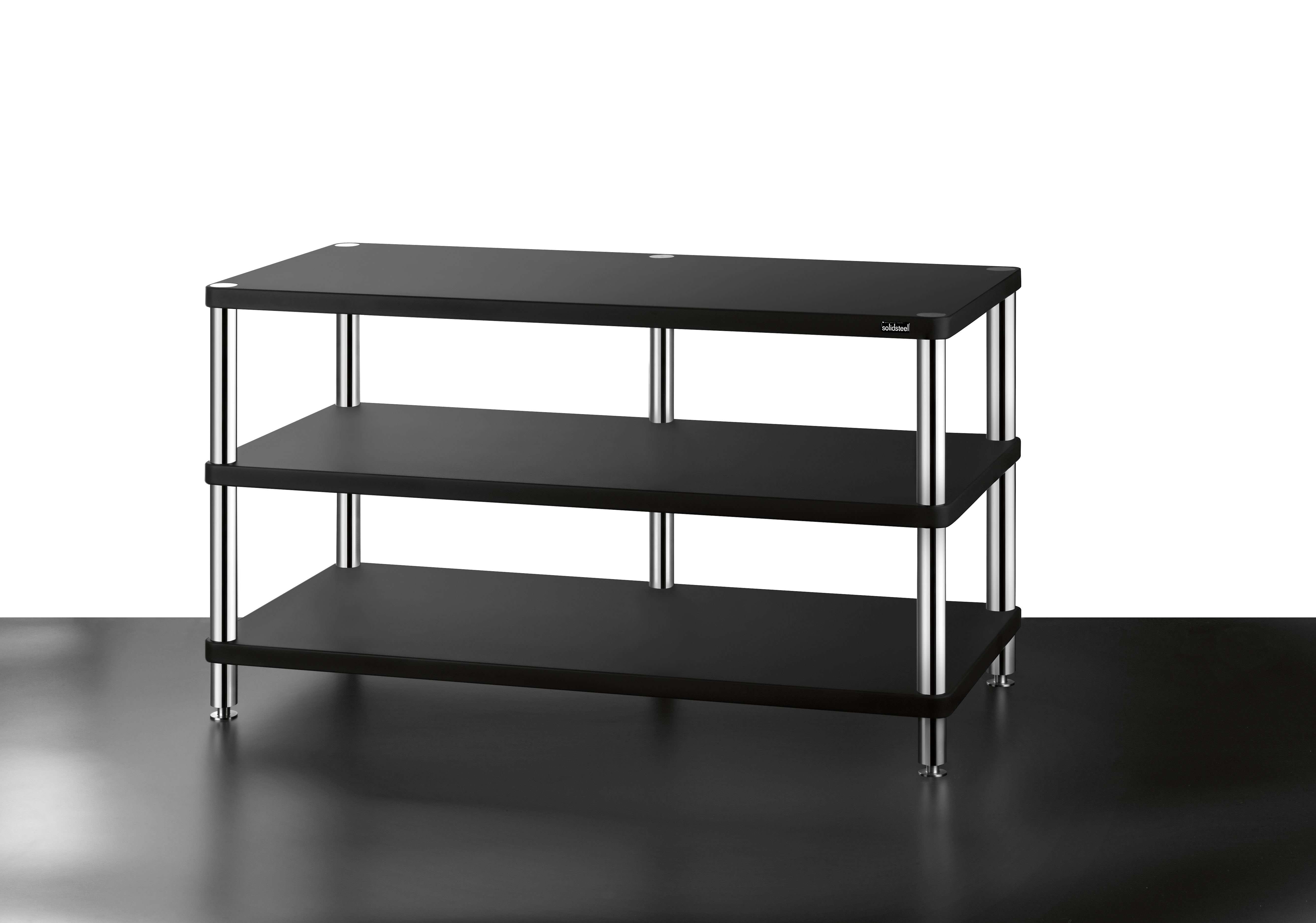 Hifi Rack Design Hw 3 High End Tv Design Rack 3 Shelves Solidsteel