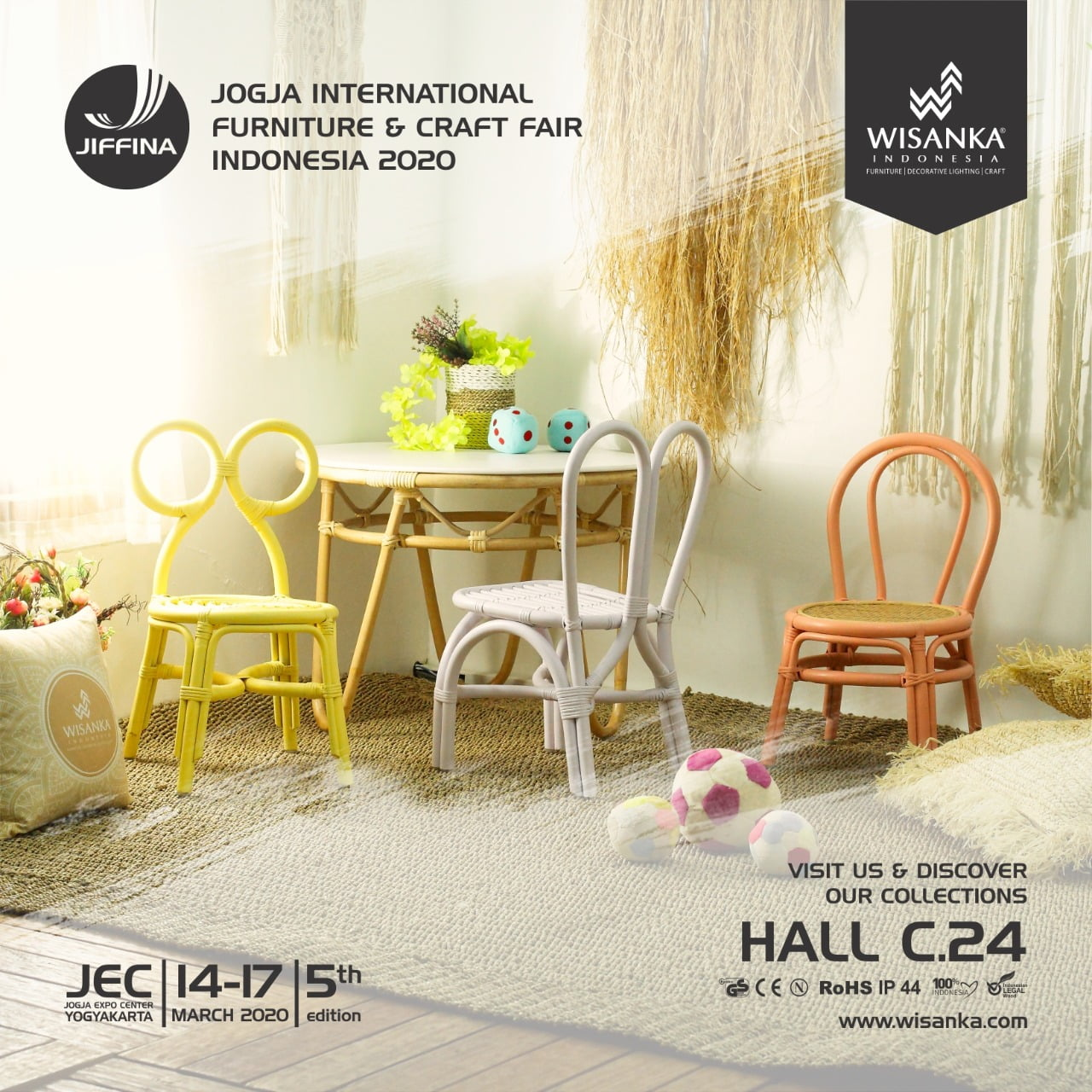 Jiffina 2020 Jogja International Furniture And Craft Fair Indonesia