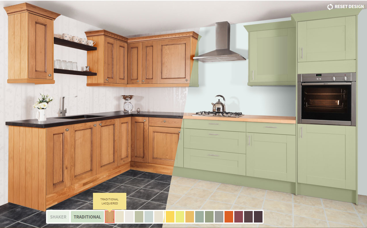 Kitchen Waste Bins Built In Solid Wood & Solid Oak Kitchen Cabinets From Solid Oak