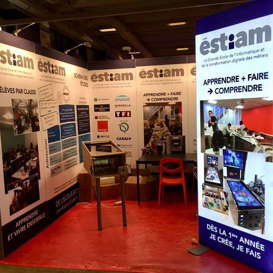 Salon De Letudiant Paris Stand Estiam 9m² Salon De L Etudiant 2018 Soli Expo