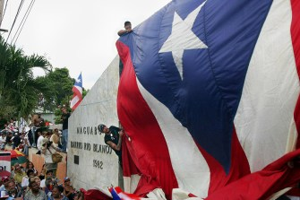 PUERTO RICAN FLAG—Adolfo, Photo by Thais Llorca
