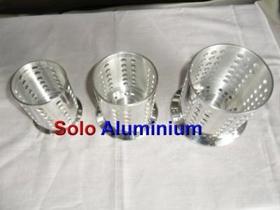 Tempat Lilin Aluminium