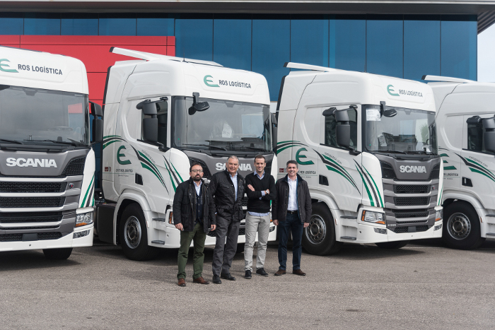 Scania Decorados Ros Logística Integral Adquiere Cinco Scania