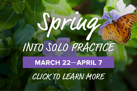Spring Into Solo Practice