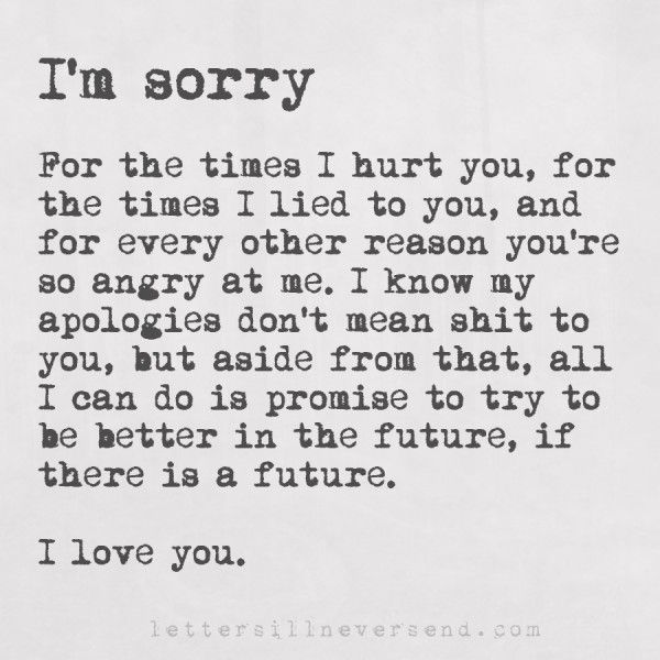 Best 25+ Sorry for hurting you ideas on Pinterest Sorry i hurt - boyfriend thank you letter