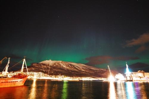 Northern Lights in Tromso, Norway