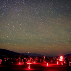 Gaze into the Dark Sky During a Star Party in Death Valley National Park