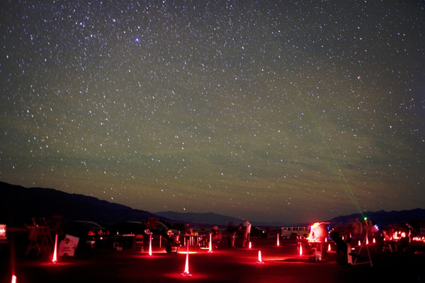 Star Party at Furnace Creek Resort in Death Valley National Park, California