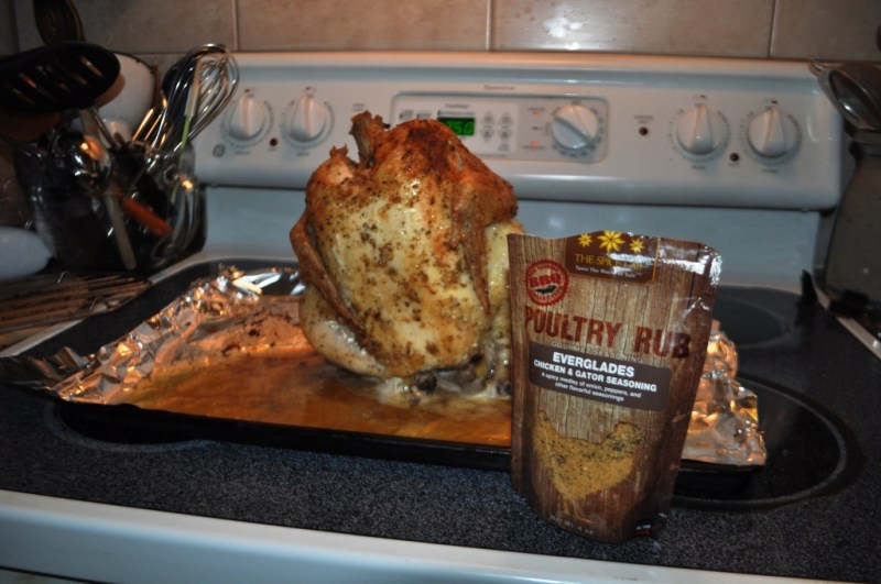 Beer Can Chicken with Old Florida Spice Company's Everglades Chicken & Gator Seasoning