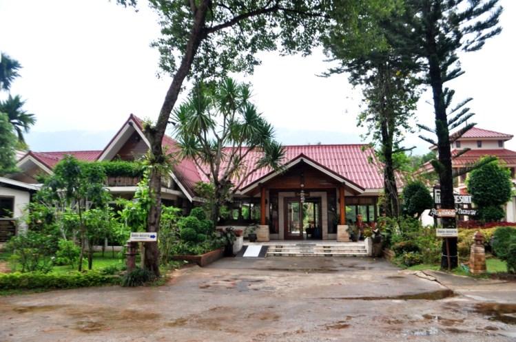 Phu Ruea Hotel. Loei Province, Thailand, March 2015.