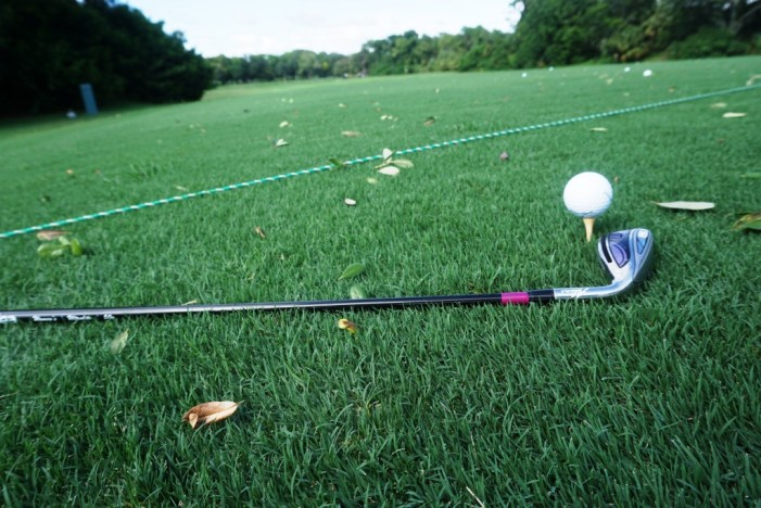 I Tee'd It Up at Innisbrook Resort During a Golf Clinic.