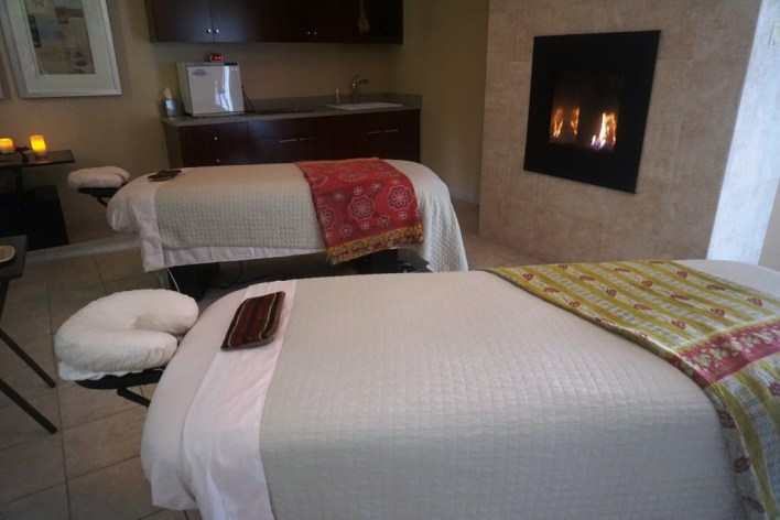 Couple's Massage Room at Salamander Spa at Innisbrook Resort, Palm Harbor, Florida.