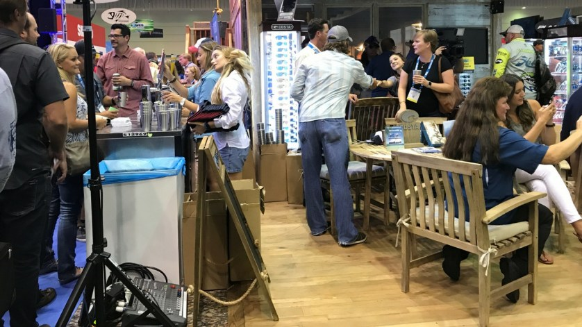 ICAST 2017: Social Hour in the Costa Booth.