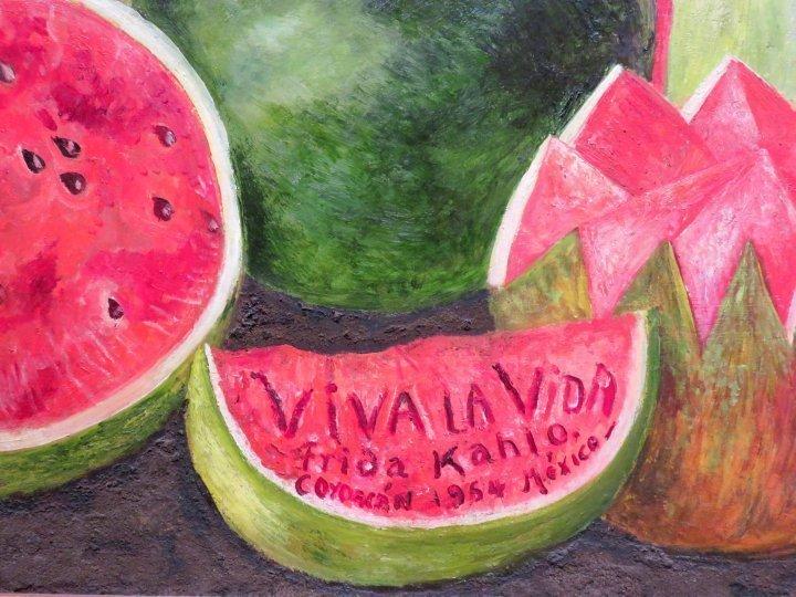 Famous Paintings Wallpaper Iphone Viva La Vida Painting Frida Kahlo