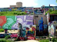 Graffiti Wall Austin Texas - Hope Outdoor Gallery  : Solo ...