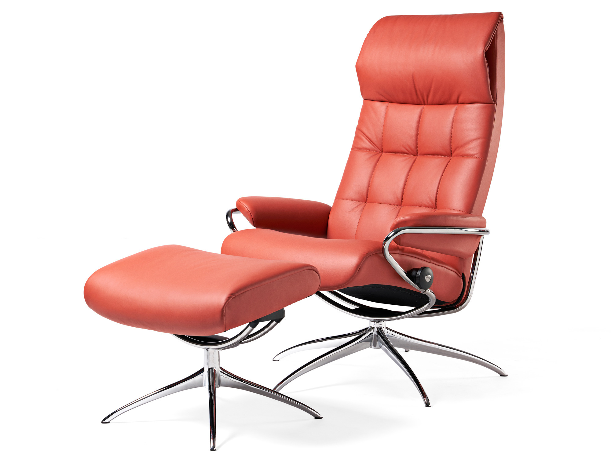 Stressless Sessel Paris High Back Stressless Retro Sessel Aktion Inkl Hocker Solovivo