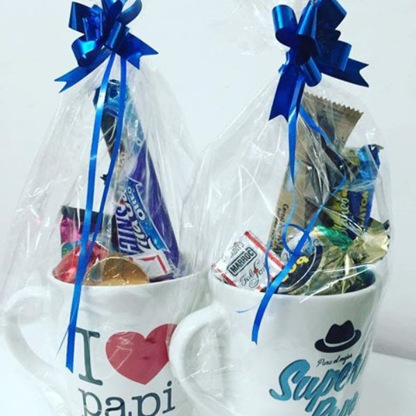 Comprar Botellas Decoradas Taza Personalizada Decorada Con Chocolates Y Dulces