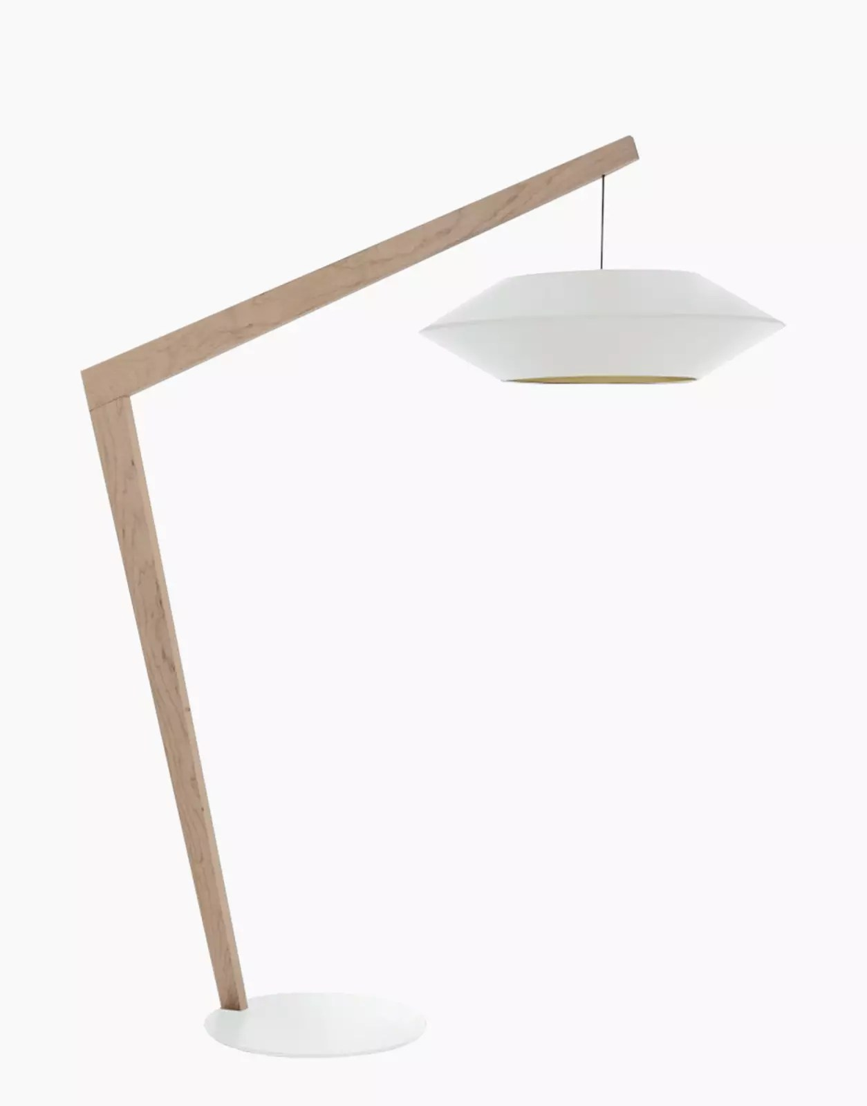 Design Küchenlampe White Floor Lamp Lmp Ovni - Solution-design.fr - Furniture - Lighting - Decoration