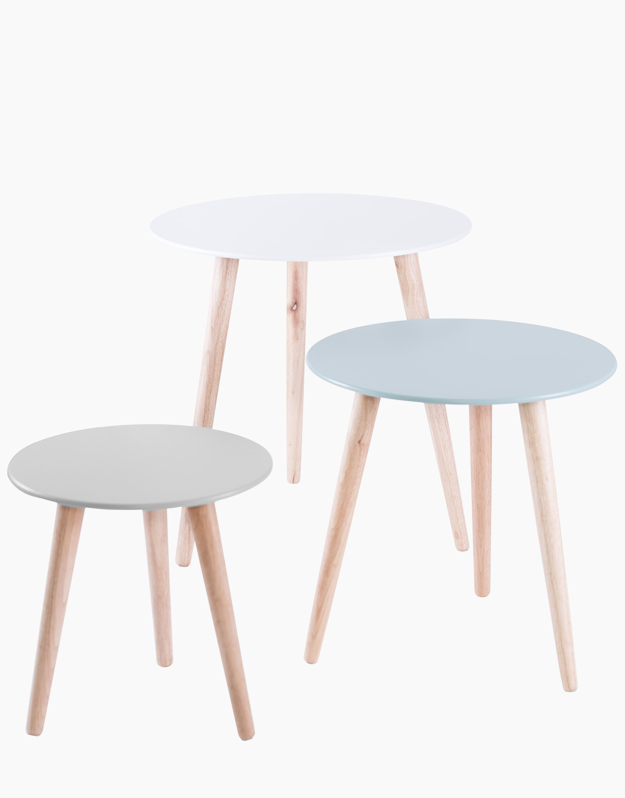 Salon De Jardin Scan Design Set Of 3 Stockholm Nesting Tables Solution Design Fr Furniture Lighting Decoration