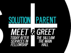To all parents and students: Join us for a brief Meet 'n Greet this Sunday after the 9&11am services in the Main Campus Fellowship Hall. We'd love the opportunity to meet you and your student as we enter into the new school year!