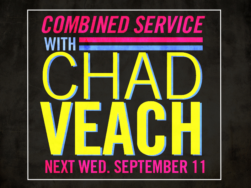 Special Guest Chad Veach