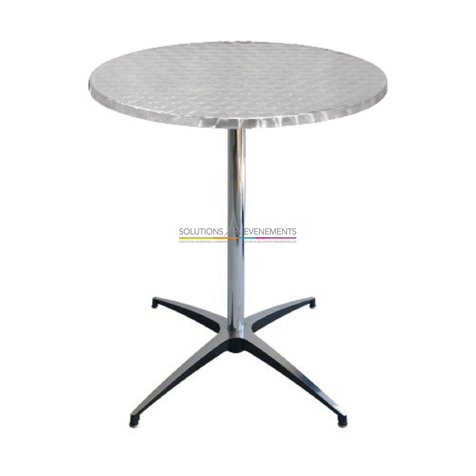 Table Bistrot Inox Location Table Gueridon Bistrot Inox Solutions Evenements