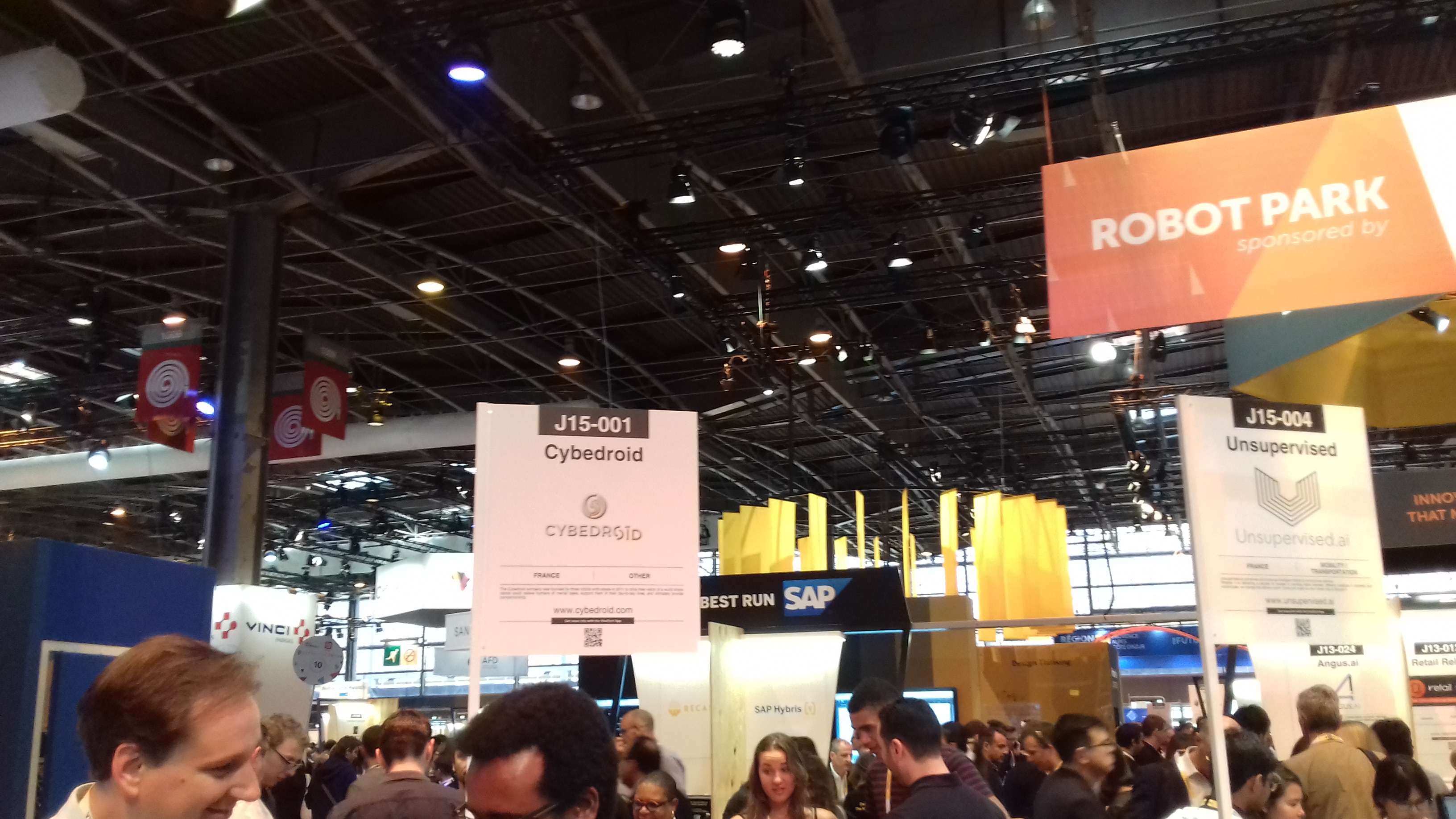 Salon De La Robotique Vivatech 2018 The Place To Be Pour Les Robots