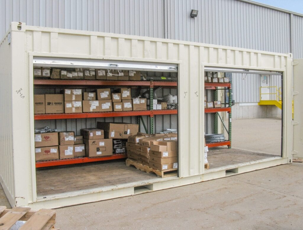Job Site Storage Containers Conex Boxes Offer Secure