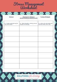 Free Worksheets  Anger Management Worksheets For Teens ...