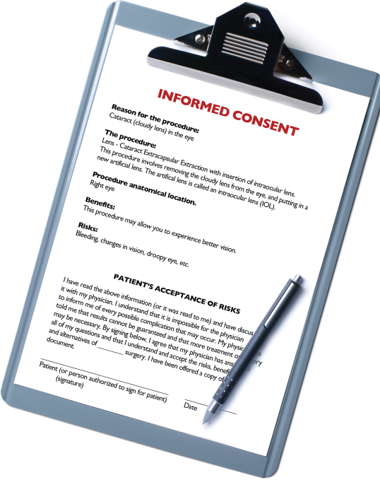 How informed are participants from the Informed Consent Form - consent form