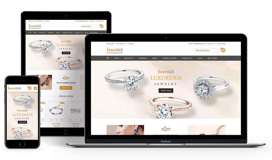 JewelUX - WordPress Jewelry Theme, WooCommerce Jewelry Theme